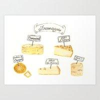 Cheese Glorious Cheese Art Print
