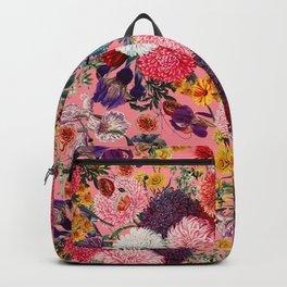 Floral Pink Pattern Backpack