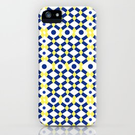 Moroccan Inspired Tile Pattern iPhone Case