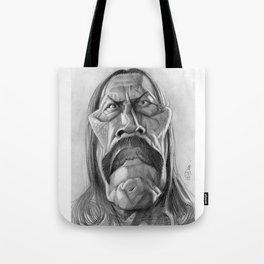 Danny Trejo, caricature. Tote Bag