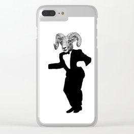 Happy Ram Clear iPhone Case