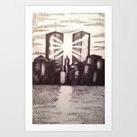 Twin Towers 9/11 Art Print