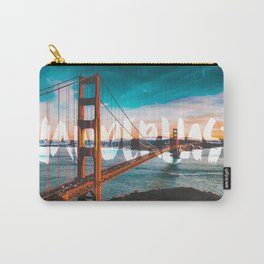 WANDERLUST San Francisco Carry-All Pouch