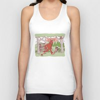 sasquatch Tank Tops featuring Community Library (Sasquatch) by Spur Studios