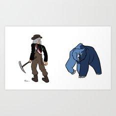 Trail Blazers vs Grizzlies Art Print