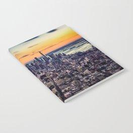 new york skyline architecture nyc Notebook