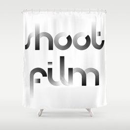 Shoot Film Shower Curtain