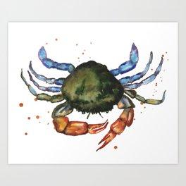 Shoreline Scuttler Art Print