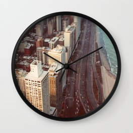 Tiny Cars #2 Wall Clock