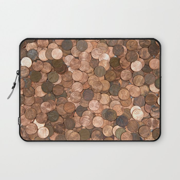 Pennies for your thoughts Laptop Sleeve