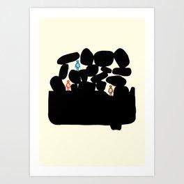 Holidays Art Print