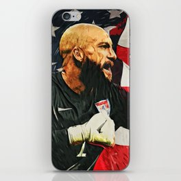 Tim Howard iPhone Skin