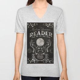 Gypsy Crystal Ball Reader Sign Unisex V-Neck