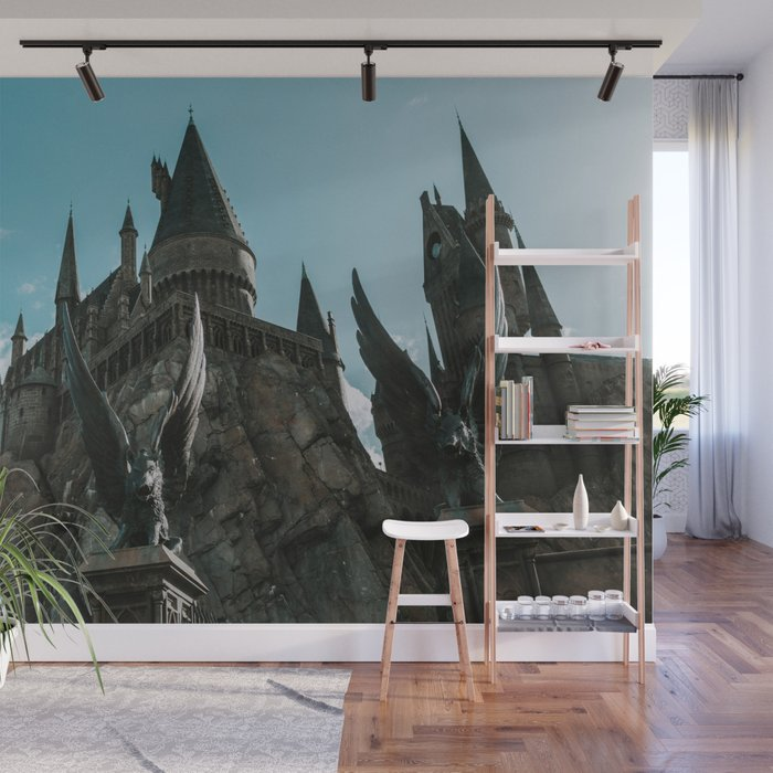 Hogwarts Castle Wall Mural By