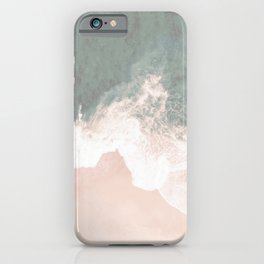 Beautiful Turquoise Lace Seashore And Ocean iPhone Case