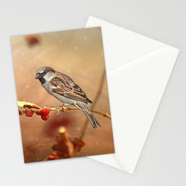 The Sparrow Stationery Cards