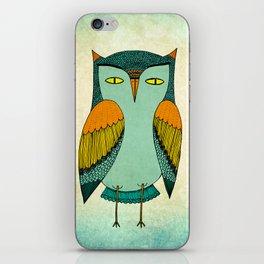 1970s Owl iPhone Skin