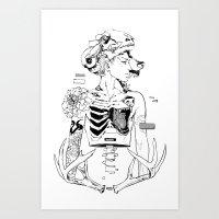 halloween Art Prints featuring Halloween by Cassandra Jean