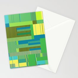 Scandinavian Moon (Parrot Colours) Stationery Cards