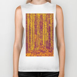 In the middle of the forest #decor #society6 Biker Tank