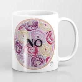 No (Floral) Coffee Mug