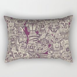 gargoyles purple Rectangular Pillow