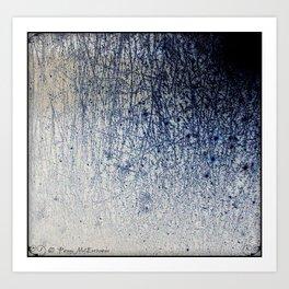 Inverted Frost Patterns_Wispy Art Print