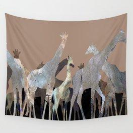Girafes Wall Tapestry