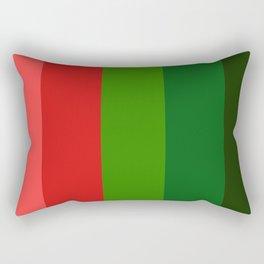 Christmas color chart Rectangular Pillow