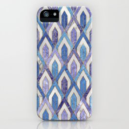 Art Deco Marble Pattern III. iPhone Case