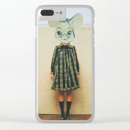 lil gal mouse Clear iPhone Case