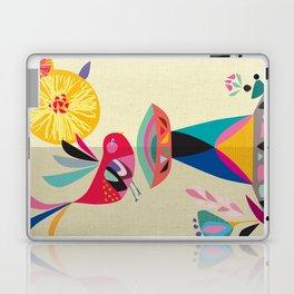 Bird Bath Laptop & iPad Skin