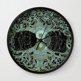 Melodic Mandala Wall Clock