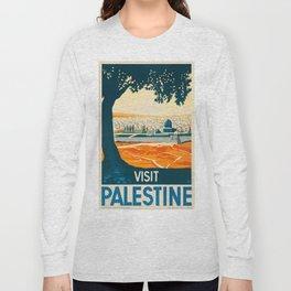 Vintage poster - Palestine Long Sleeve T-shirt