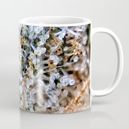 Diamond OG Top Shelf Trichomes Close Up View Coffee Mug