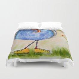 Gourd Bird & Dragonfly Duvet Cover