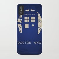 doctor who iPhone & iPod Cases featuring Doctor Who by LukeMorgan