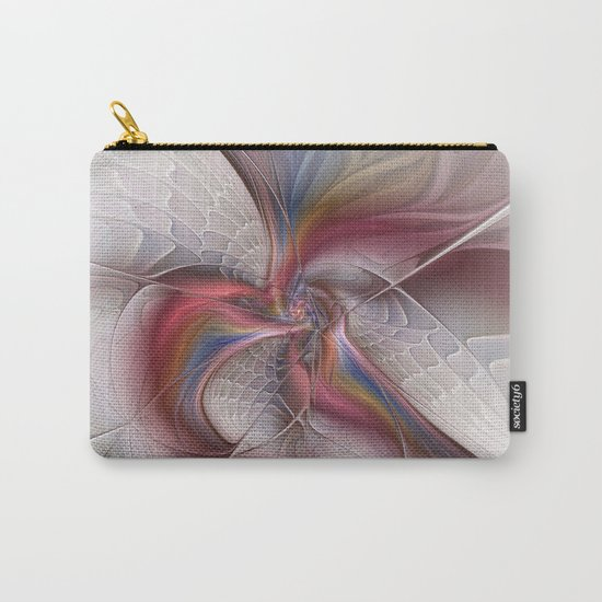 Abstract Dancing, Fractal Art Carry-All Pouch