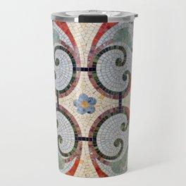 Mosaic Tile in Cuba Travel Mug
