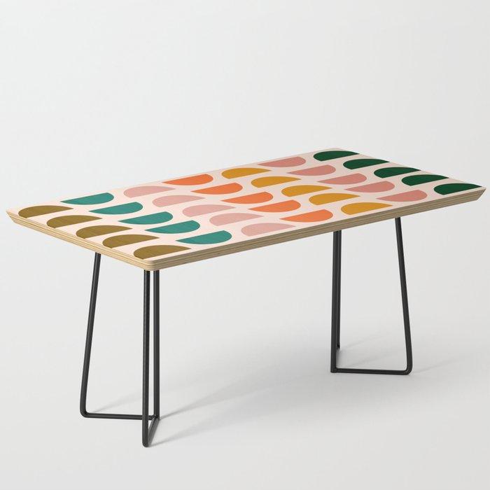 Retro 70s Geometrics Coffee Table By Junejournal