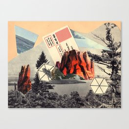 Mt. Red Canvas Print