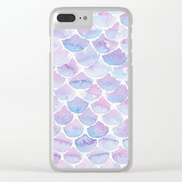 Mermaid Scales 03 Clear iPhone Case