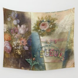 Les Fleurs Wall Tapestry
