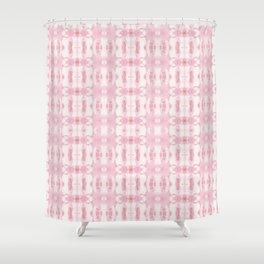 Tie Dye Roses Shower Curtain