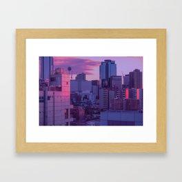 Tokyo Never Sleeps Framed Art Print