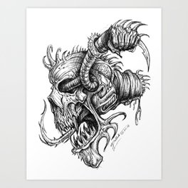 Disconnect Art Print