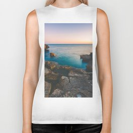 Rock beach paradise Biker Tank