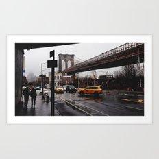 NY Bridges Series No.2 Art Print