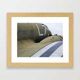 War Plane Framed Art Print