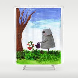 Sewing the Seeds of Love Shower Curtain